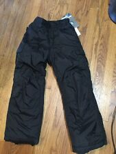 New Rawik Kids Board Dog Insulated Snow Ski Cargo Pants Size 4 Black Small Youth