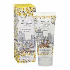 WOODS OF WINDSOR ENGLAND Hand Cream Honeyed Pear & Amber ~ 3.4 oz / 100ml ~ New
