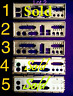 #MB I/O IO PLATE BACK SHIELD CHOICE OF ONE FOR UNKNOWN MOTHERBOARD PC