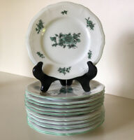 """Rosenthal~Chippendale~Set Of Eleven 6"""" Bread & Butter Plates ~ Germany~U.S. Zone"""