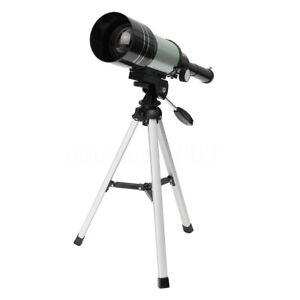 300x70 HD Optics Monocular Astronomical Optical Telescope Barlow Lens Tripod