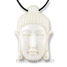 Buddha Amulett Anhänger Kette Bone Knochen Handarbeit Design PB275