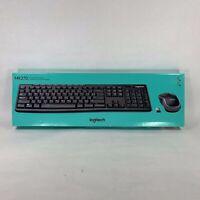 Logitech - Wireless Keyboard and Mouse Combo - MK270