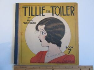 1932 TILLIE The TOILER Book 7 by Russ Westover - cover detached