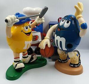 M&M + JELLY BEAN DISPENSERS : GOLFING, BASKETBALL, SLOT MACHINE & GOURMET (DRMP)