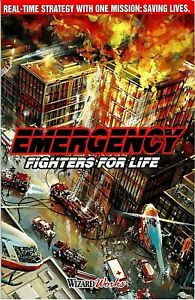 Emergency Fighters for Life Pc New Cd Rom In Sealed Paper Sleeve Plus Manual XP