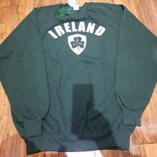 Fruit Of The Loom Mens Ireland Sweatshirt BNWT Size XL