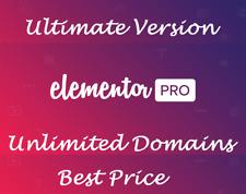 Elementor Pro 2.8.4 + 100 Templates ⭐ Wordpress Page Builder Plugin ⭐ Best Offer