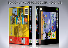 PILOTWINGS 64. PAL VERSION. Box/Case. Nintendo 64. BOX + COVER. (NO GAME).