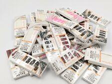 60 SALLY HANSEN SALON EFFECTS NAIL STICKERS ASSORTED - BRAND NEW