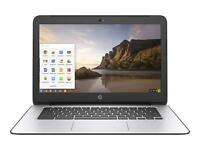 HP Chromebook 14 G4 Laptop Intel N2840 2.16GHz 4GB RAM 16GB SSD Chrome OS
