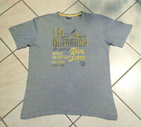 ESPRIT    T-Shirt    Kurzarm   Gr. M (50)   grau   mit Aufschrift