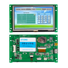 5 Industrial Hmi Display Lcd Touch Screen With Uart Port Develop Software