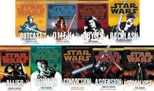 Star Wars FATE OF THE JEDI Series PAPERBACK Collection Set of Books 1-9