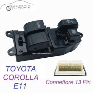 Pulsantiera Alzacristalli Toyota Corolla 1997 2002 2 vetri elettrici 84820-12361