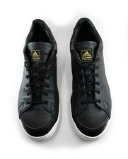 Adidas Adicross Mens Golf Shoes Black Leather Water Resistant Size 12 M F33749