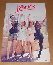 Little Mix Glory Days Poster 2-Sided Original 2016 Promo 11x17 RARE