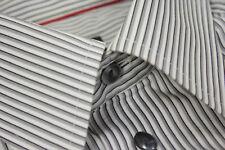 🔥 ETON 🔥 Striped Pointed Collar Shirt SIZE 42 16 1/2