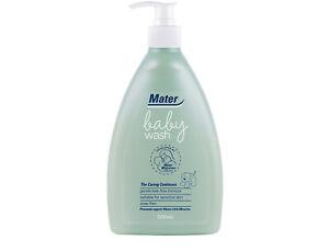 Mater Baby Wash, Australian Made, Hospital-developed, soap-free 500mL