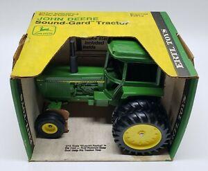Vintage John Deere Sound-Gard 4430 / 4440 / 4450 Tractor By Ertl 1/16 Yellow Box