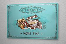 Tin Sign Bar Party Cinema popcorn