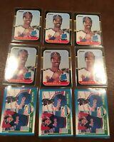 DEVON WHITE Lot (9 cards) Rookies 1987 Donruss #38 & 1987 Fleer #646 RC's