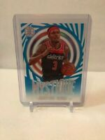 2019-20 Panini Illusions - Bradley Beal #19 Mystique BLUE SAPPHIRE - Wizards