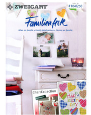 Zweigart pattern book 104 / 260 Family celebrations  - cross stitch 28 pages