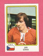 Jiri Crha Team Czechoslovakia Czech 1979 Panini Hockey Sticker NM/M #75