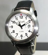 KIENZLE Herrenuhr Automatik Fliegeruhr FL22602 Leder Armband Saphirglas 5BarW.R.