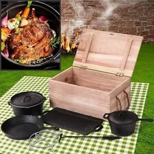Saucepan Cast Iron Cooking Pan Sets with Lid