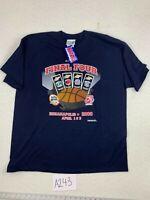 Vintage - NCAA - 2000 - Prairie Graphics - Final Four - NWT - Size XXL
