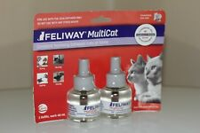 Feliway Milticat Cats & Kitten Harmony 2 Diffuser Refills Brand New