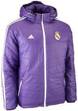 adidas Mens Winter Jackets Teamwear Hooded 3 Styles Real Madrid Pad Jacket W63164 UK M