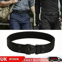 Outdoor Military Tactical Belt Mens Army Combat Waistband Rescue Rigger Belts UK