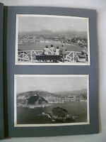 ALBUM de 12 ancienne photo SAN SEBASTIAN BILBAO SANTANDER en 1950