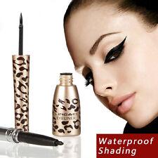 Femmes Leopard liquide hydrofuge Eye Liner Eyeliner Pen maquillage cosmétique ×1