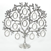 Family Tree Hanging Photo Picture 12 Frame Holder Table Top Desk Display Decor Q