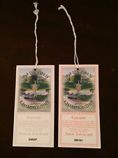 1998 US Open Championship Tickets - Thursday June 18th & Friday June 19th 1998