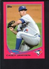CASEY JANSSEN 2013 TOPPS MINI #354 PINK PARALLEL BLUE JAYS SP #15/25