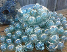 """Vintage Japanese Glass Fishing Floats, 100 - 2"""", With & Without Net"""