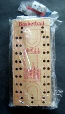 Basketball Wood Board Peg Game with Dice and Pegs