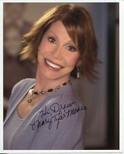 MARY TYLER MOORE ACTRESS IN DICK VAN DYKE SHOW & RHODA SIGNED PHOTO AUTOGRAPH