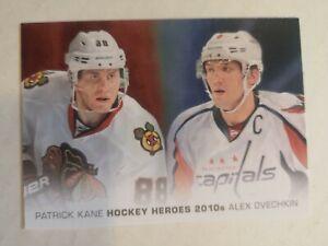 2014-15 UD HOCKEY HEROES PATRICK KANE & ALEXANDER OVECHKIN
