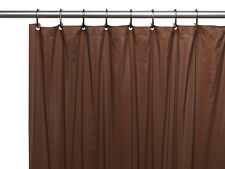 Hotel Collection, 8 Gauge Vinyl Shower Curtain Liner w/ Metal Grommets in Brown