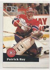 1991-92 Pro Set Hockey - #125 - Patrick Roy - Montreal Canadiens