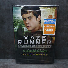 The Maze Runner & The Scorch Trials (DVD, 2016, Widescreen) NEW, SEALED
