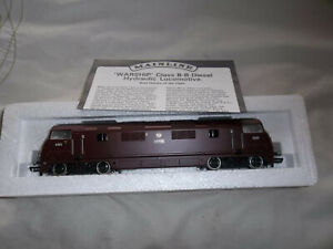 """Mainline 37073 Class 42 Warship """"HERMES"""" D823 TESTED IN VGC INTACT GOOD BOX"""