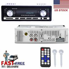 Car Auto Stereo Audio In-Dash FM Aux Input Receiver with TF USB MP3 Radio Player