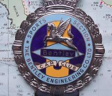 Original Vintage Car Mascot Badge Badge by Gaunt : Bentley Engineering Pegasus